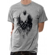 It Chapter 2 - Distorted Face Men's Large T-Shirt - Grey