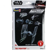 TIE Fighter Star Wars 1:110 Scale Easy Click Revell Model Kit Bag