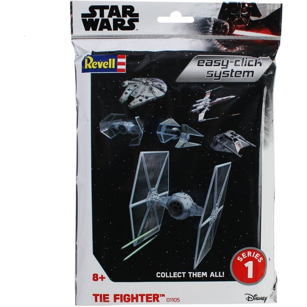TIE Fighter Star Wars 1:110 Scale Easy Click Revell Model Kit Bag - Image 1