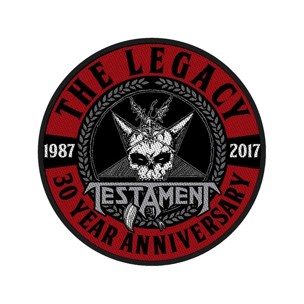 Testament - The Legacy 30 Year Anniversary Standard Patch
