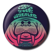 Lyrics by Lennon & McCartney - I Am The Walrus Badge