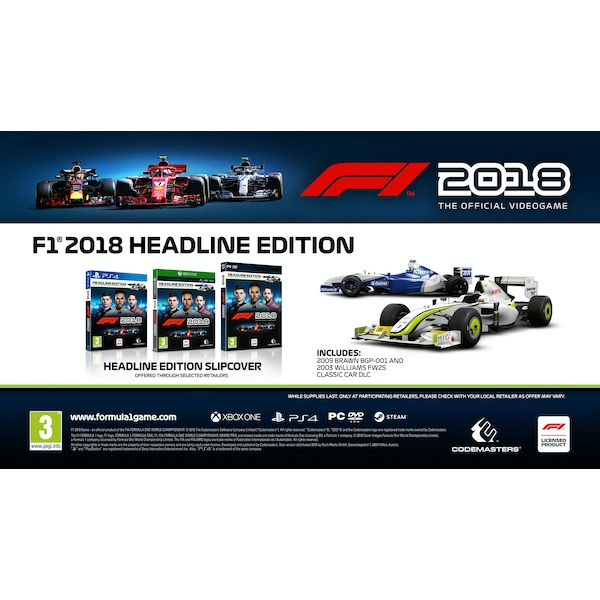 F1 2018 Headline Edition PC Game - Image 4