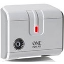 One for All 1 Way TV Signal Booster UK Plug