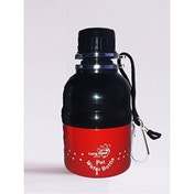 Long Paws Red 250ml Pet Water Bottle