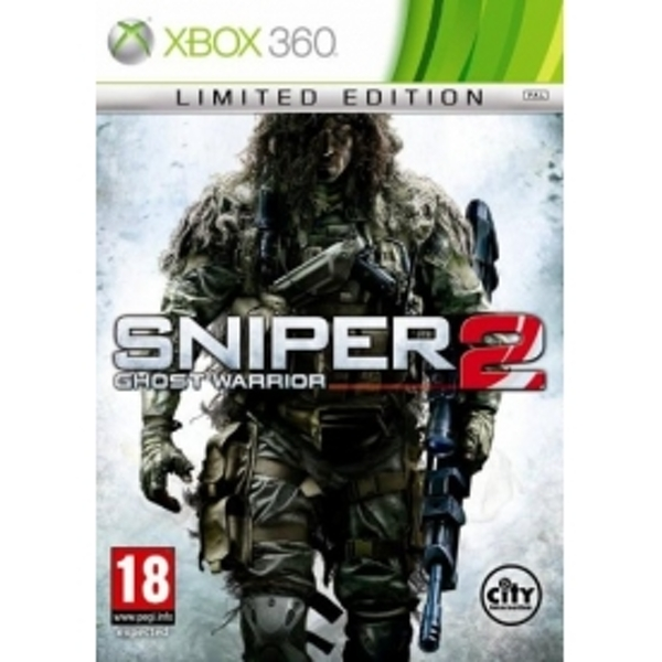 Sniper Ghost Warrior 2 Limited Edition Game Xbox 360