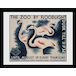 """Transport For London The Zoo By Floodlight 12"""" x 16"""" Framed Collector Print - Image 2"""