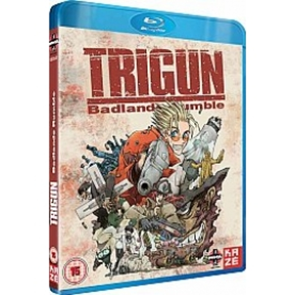 Trigun Movie Badlands Rumble Blu-ray