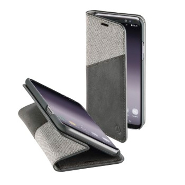 "Hama ""Gentle"" Booklet for Samsung Galaxy S9, light grey"