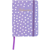Purple A6 Notebook