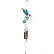 Kingfisher Blue/Green Windchime