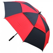 Masters Tour Dri Gust Resistant Umbrella Black/Red