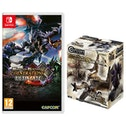 Monster Hunter Generations Ultimate Nintendo Switch Game + Builder Figure