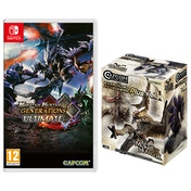 Monster Hunter Generations Ultimate + Vol 1 Builder Figure Nintendo Switch Game