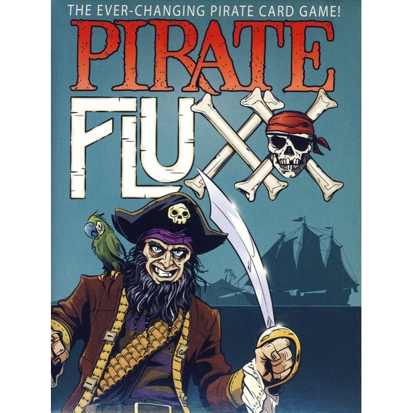 Pirate Fluxx Card Game
