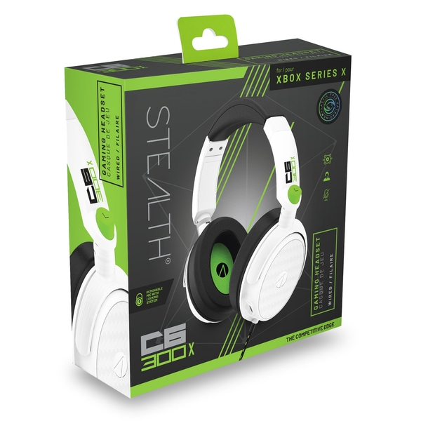 STEALTH C6-300X White Stereo Gaming Headset for Xbox Series X