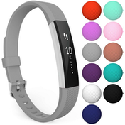 Yousave Fitbit Alta / Alta HR Strap Single Large - Grey