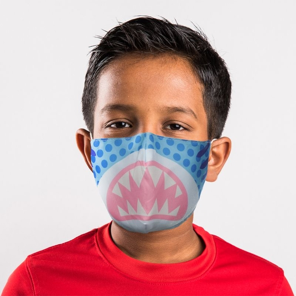 Shark Cafe Reusable Face Covering - Small
