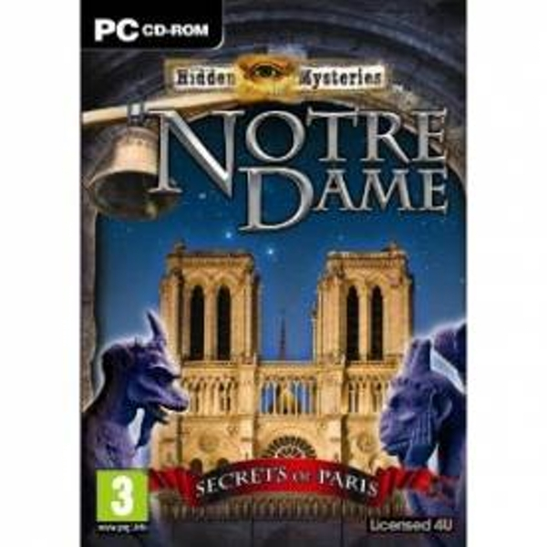 Hidden Mysteries Notre Dame Secrets in Paris Game PC