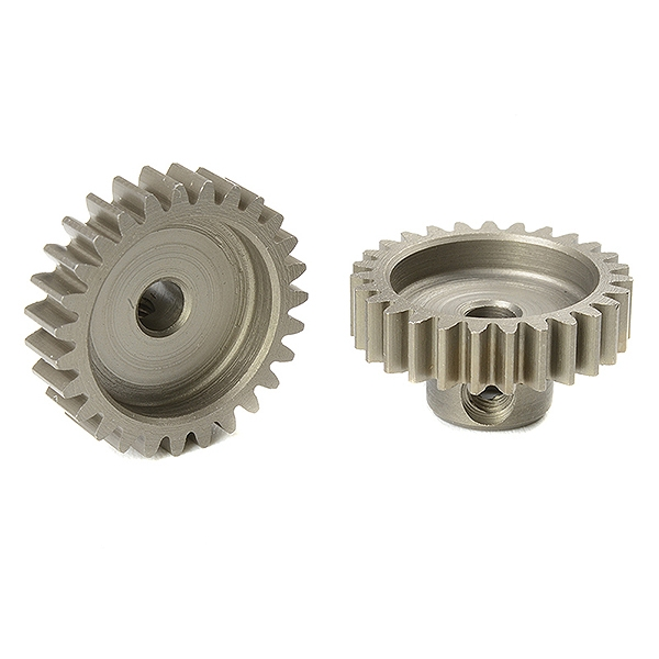 Corally M0.6 Pinion Short Hardened Steel 27 Teeth Shaft Dia. 3.17Mm