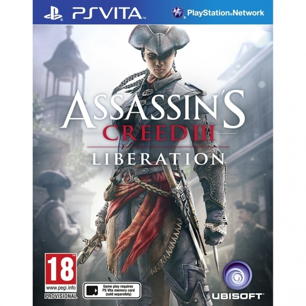 Assassin's Creed III 3 Liberation PS Vita Game