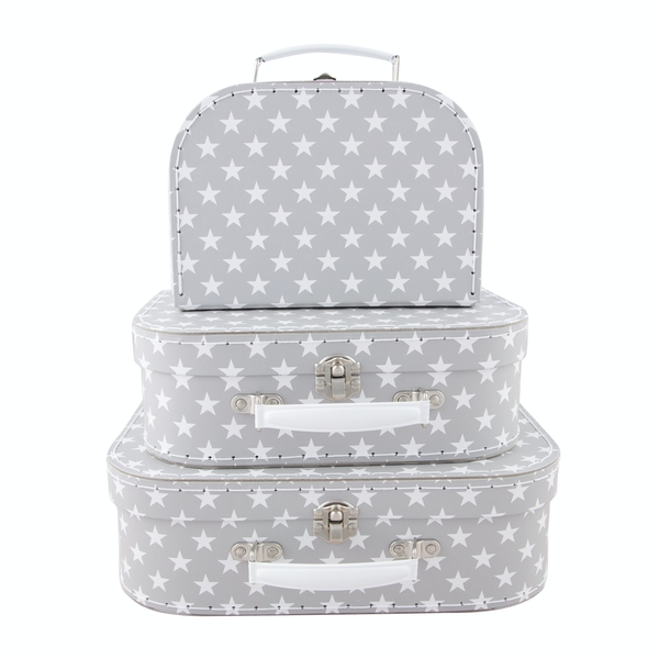 Sass & Belle Nordic Star Suitcases (Set of 3)