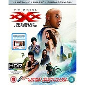 XXX The Return Of Xander Cage 4K UHD + Blu-ray + Digital Download