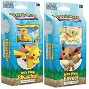 Pokemon TCG: Let's Play Pikachu/Eevee! Theme Deck - 1 At Random