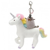 Fancy Unicorn Pusheen  (GUND) Deluxe Clip
