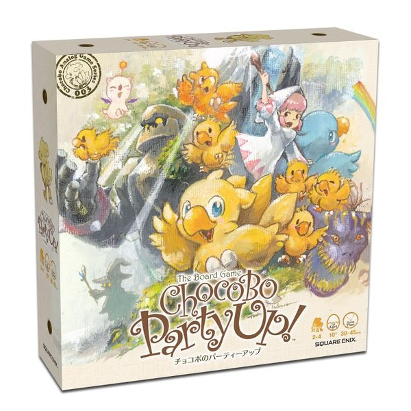 Chocobo Party Up Board Game