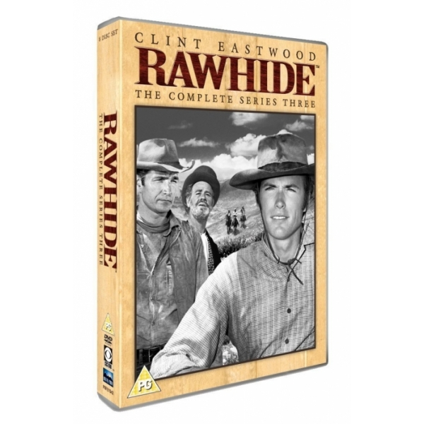 Rawhide - The Complete Series Three DVD