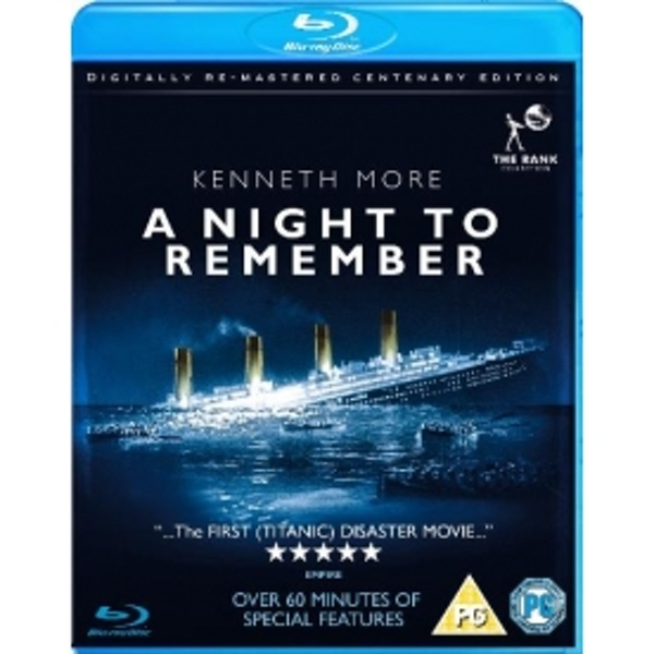 A Night To Remember Blu-ray