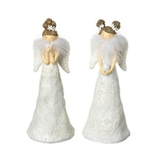 White Standing Angel Figurines (Set of 2) By Heaven Sends