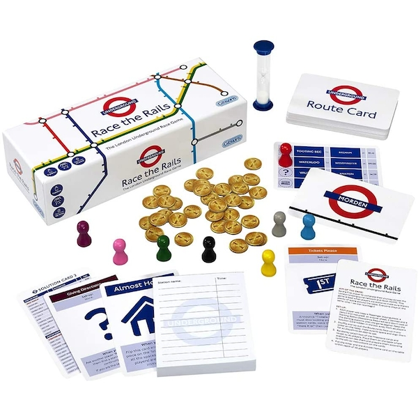Race the Rails Card Game