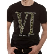 You Me At Six Camo Logo T-Shirt Small