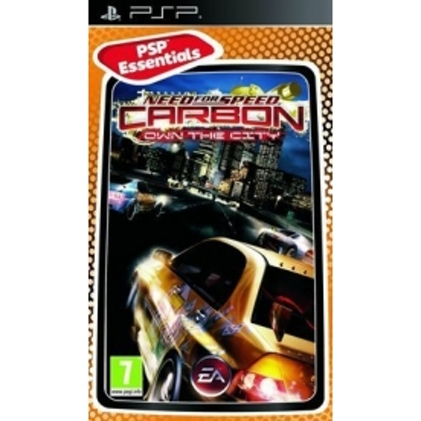 Need for Speed Carbon Own The City (Essentials) Game PSP