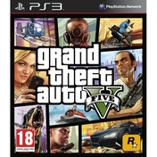 Grand Theft Auto GTA V (Five 5) (with Atomic Blimp DLC Code) Game PS3