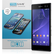 YouSave Accessories Sony Xperia C3 Screen Protector X 3 - Clear