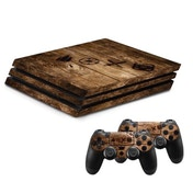 """Hama """"Wood"""" Cover for PlayStation 4 PRO"""