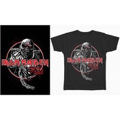 Iron Maiden - Piece of Mind Circle Men's Small T-Shirt - Black