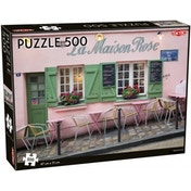 Parisian Cafe 500 Piece Jigsaw Puzzle