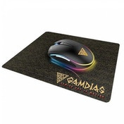 Gamdias ZEUS E1 Gaming Combo - Zeus E1 Optical Mouse & NYX E1 Mouse Mat, 3200 DPI, RGB Lighting