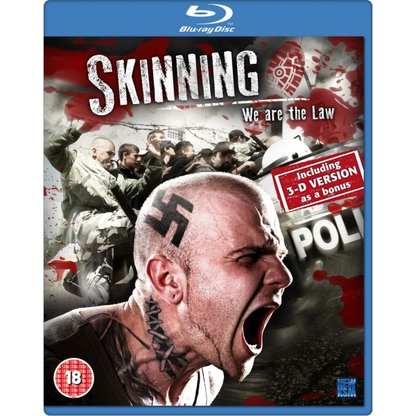 Skinning we are the Law 3D & 2D Blu-ray