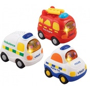 VTech Toot Toot Drivers Emergency Vehicles (Pack of 3)