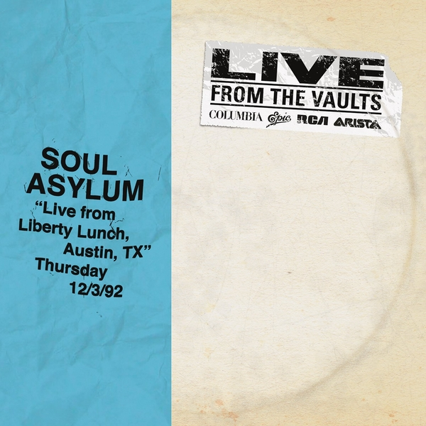 Soul Asylum - Live From Liberty Lunch Austin Tx Dec Vinyl