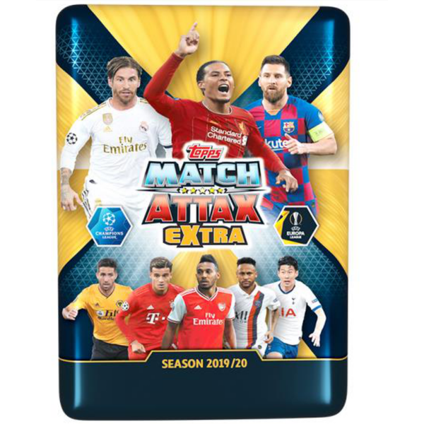 Match Attax Extra Mega Tin - UEFA Champions League 19/20