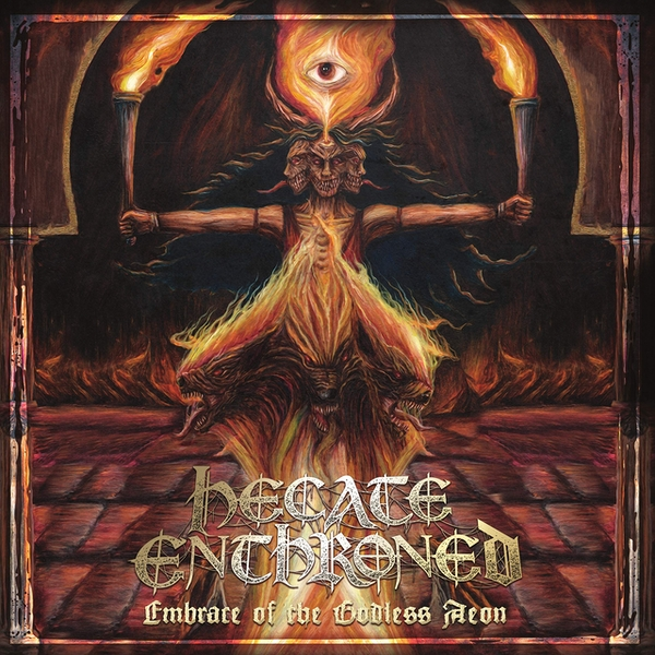 Hecate Enthroned - Embrace Of The Godless Aeon Vinyl