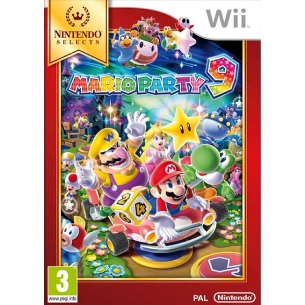 Mario Party 9 Wii Game (Selects)