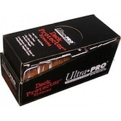 Ultra Pro 50 Standard Size Deck Protectors Box Orange Case of 12