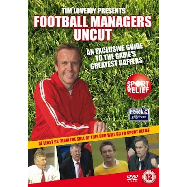 Football Managers Uncut DVD