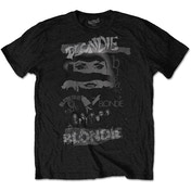 Blondie - Mash Up Men's Large T-Shirt - Black